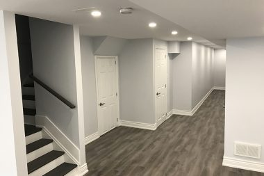 BASEMENT FINISHED